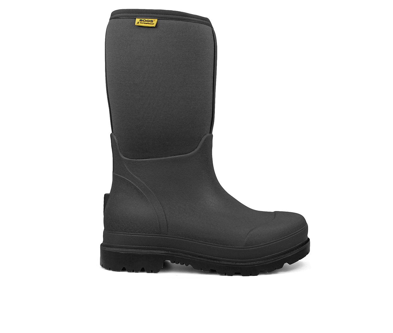 Bogs Footwear Stockman Insulated Men's Boots (Black Fabric)