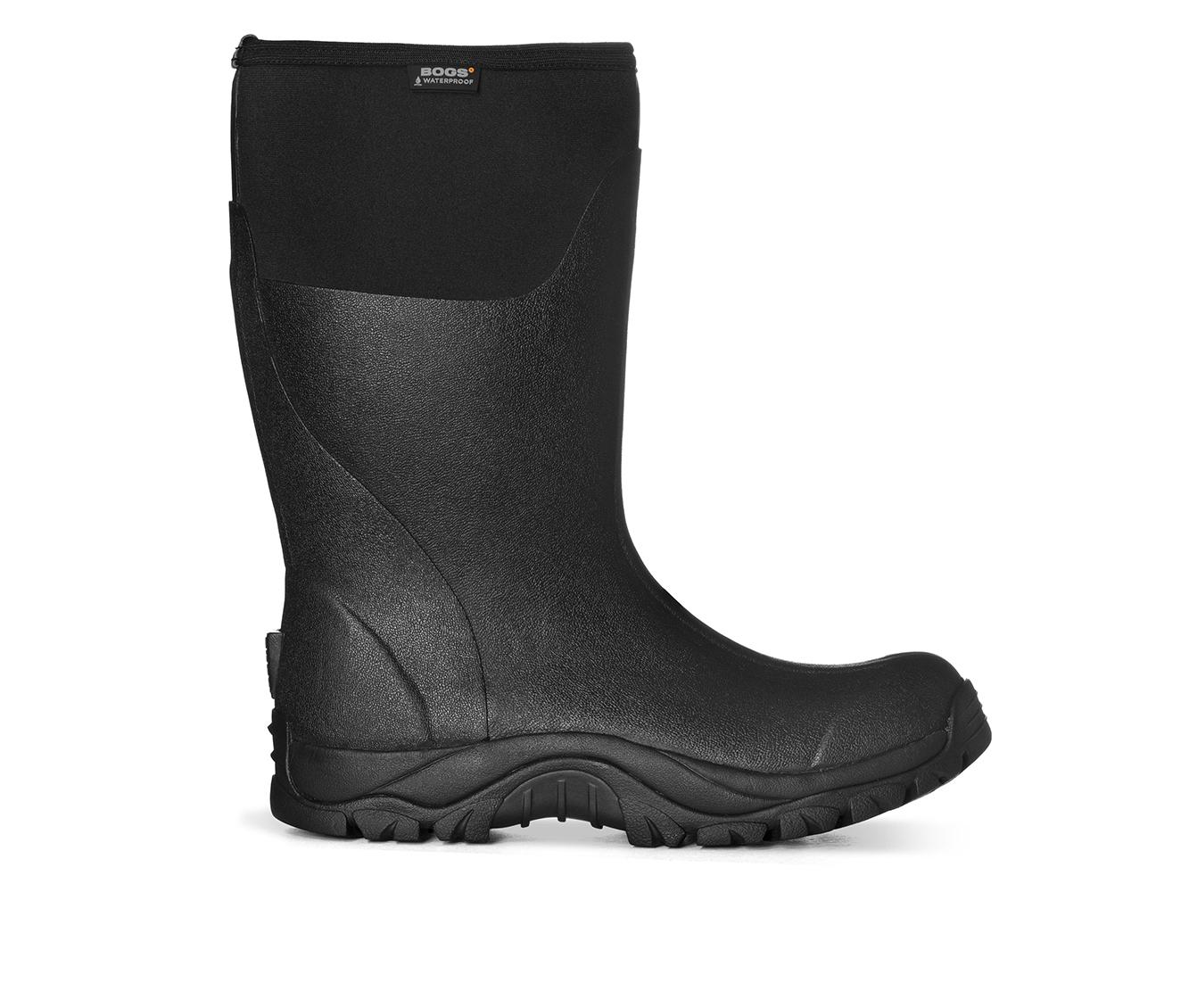 Bogs Footwear Foreman Men's Boots (Black Fabric)