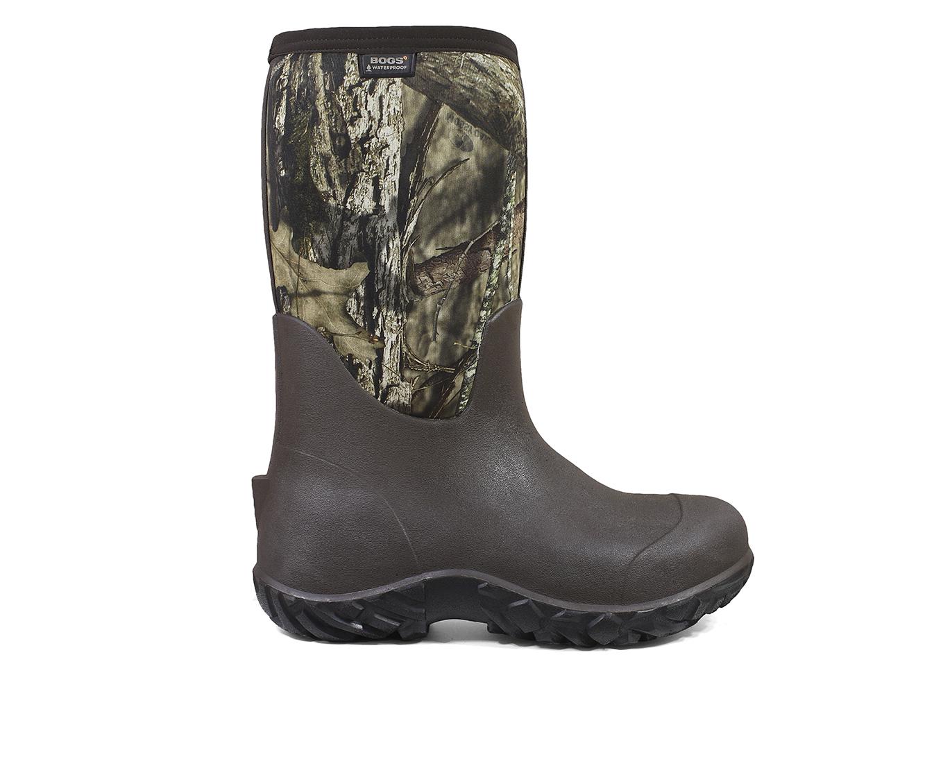 Bogs Footwear Warner Men's Boots (Multi-color Fabric)