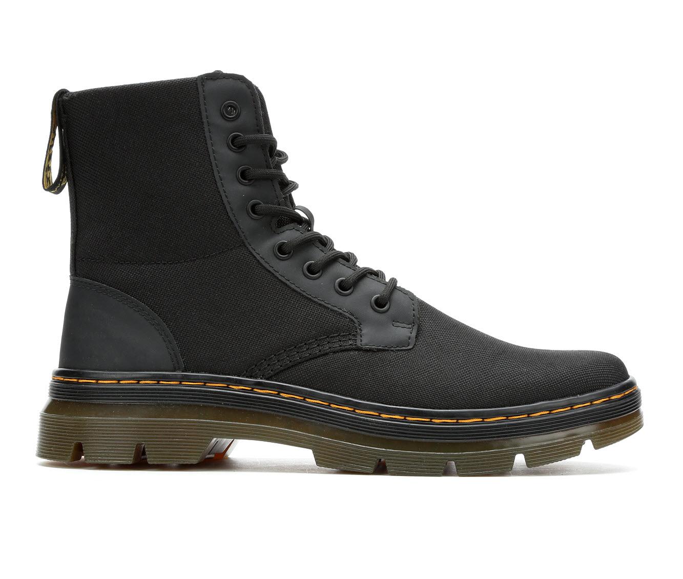 Dr. Martens Combs Men's Boots (Black)