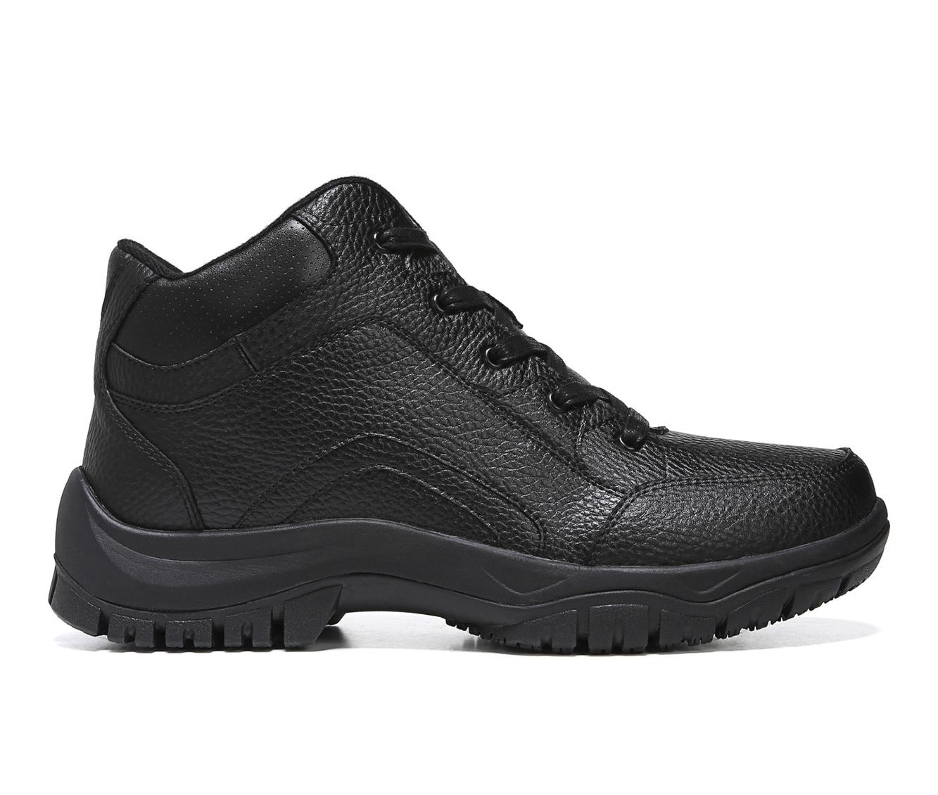 Dr. Scholls Charge Men's Boots (Black Leather)