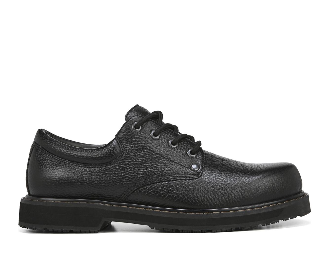 Dr. Scholls Harrington II Men's Boots (Black Leather)