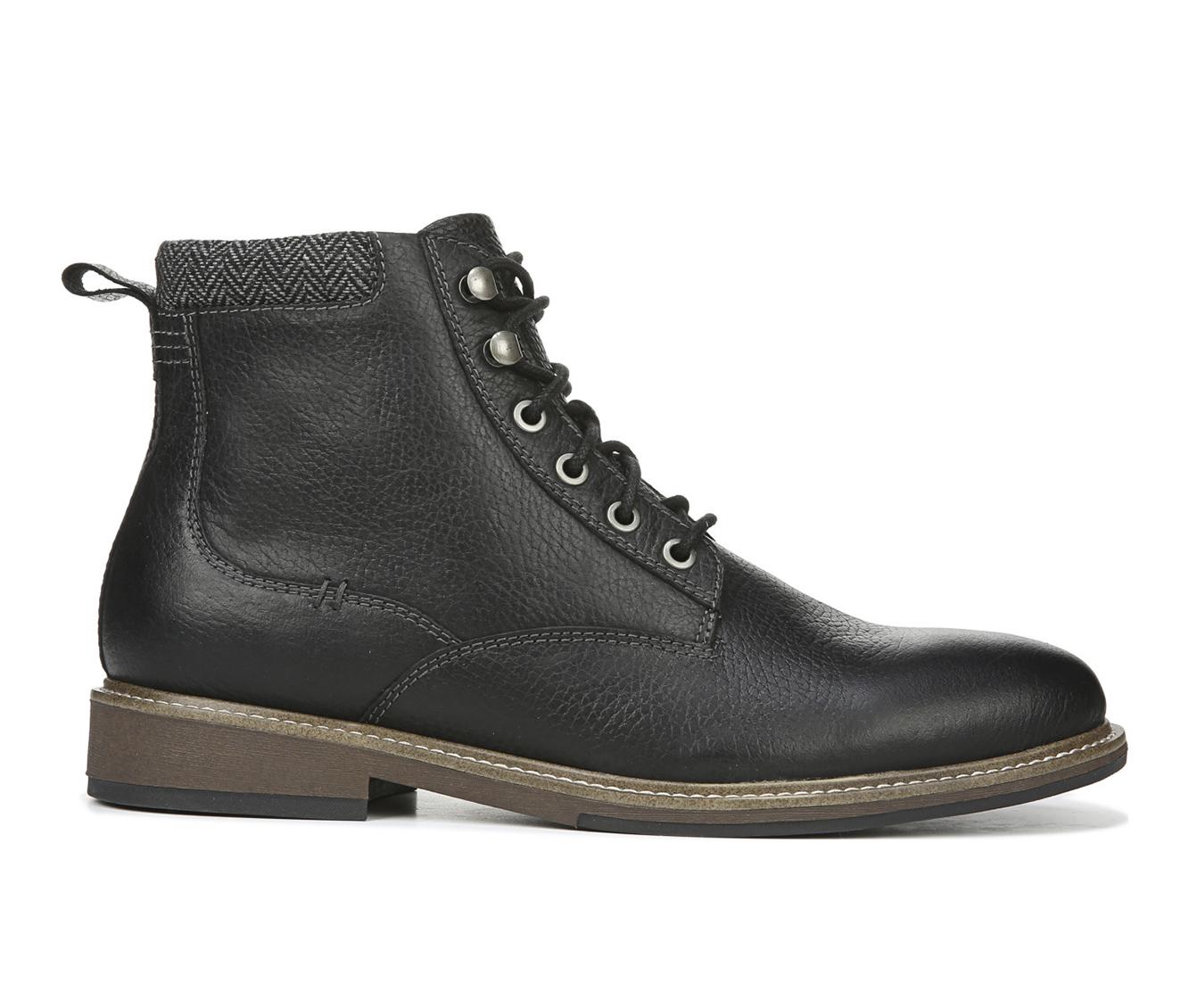 Dr. Scholls Chief Men's Boots (Black Leather)