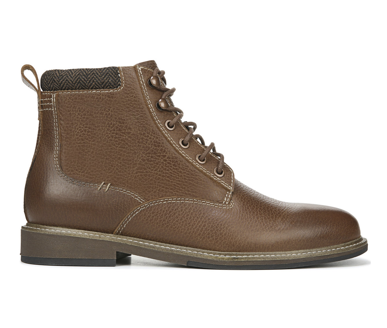 Dr. Scholls Chief Men's Boots (Brown Leather)