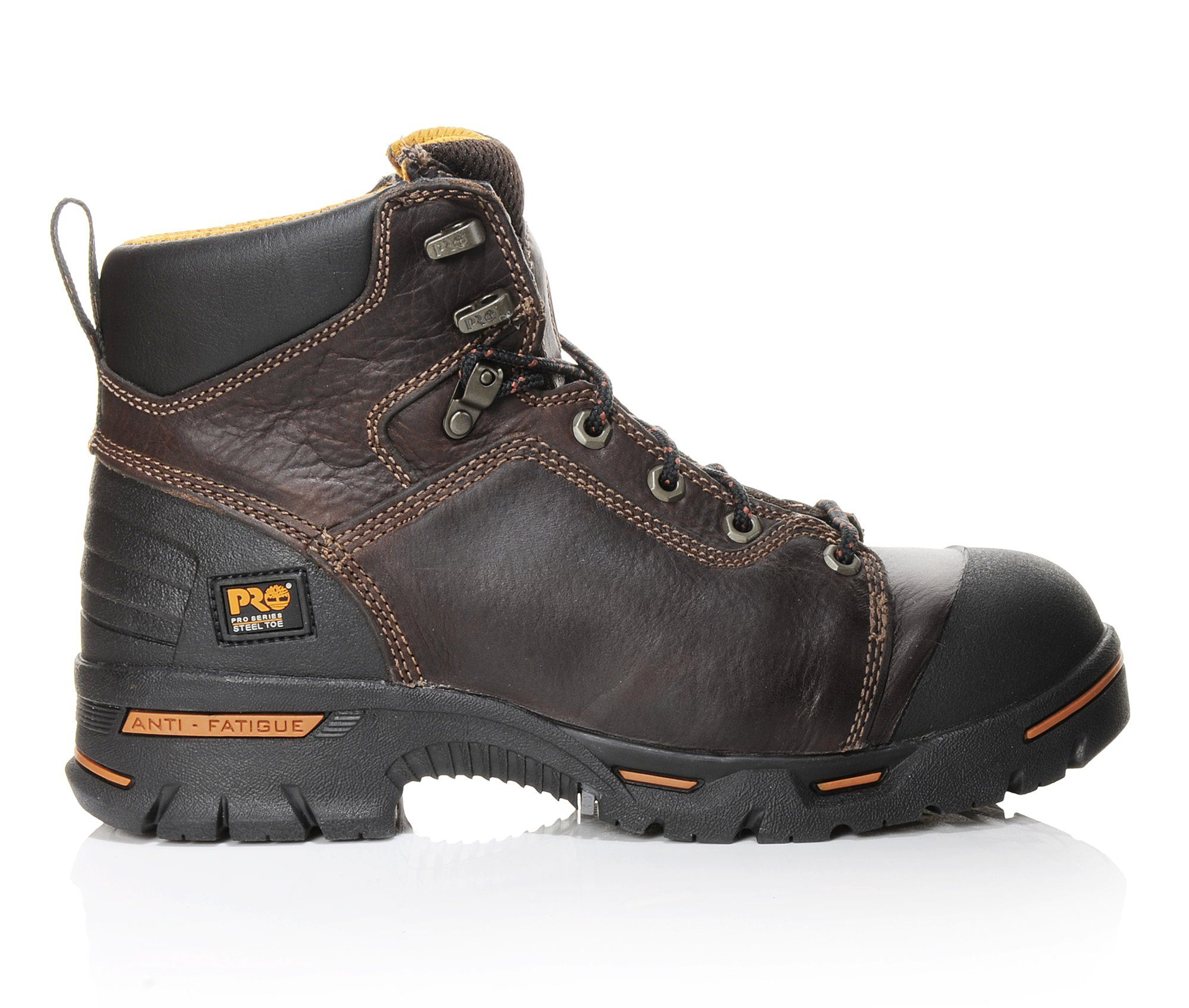 Timberland Pro Endurance PR 6 Inch Steel Toe 52562 Men's Boots (Brown Leather)