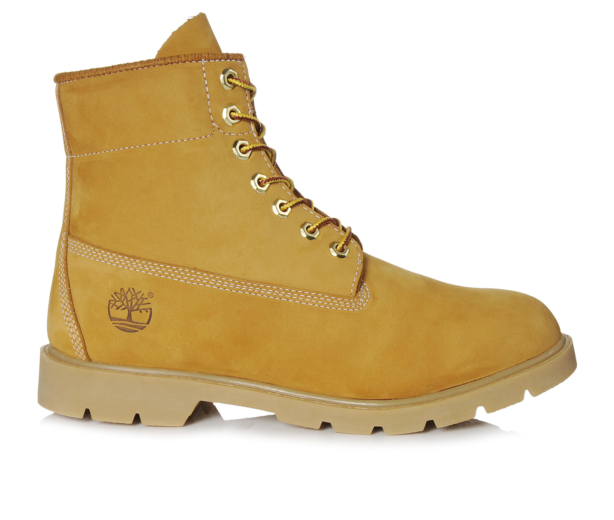 Timberland 6 Inch Basic Waterproof Men's Boots (Beige Leather)
