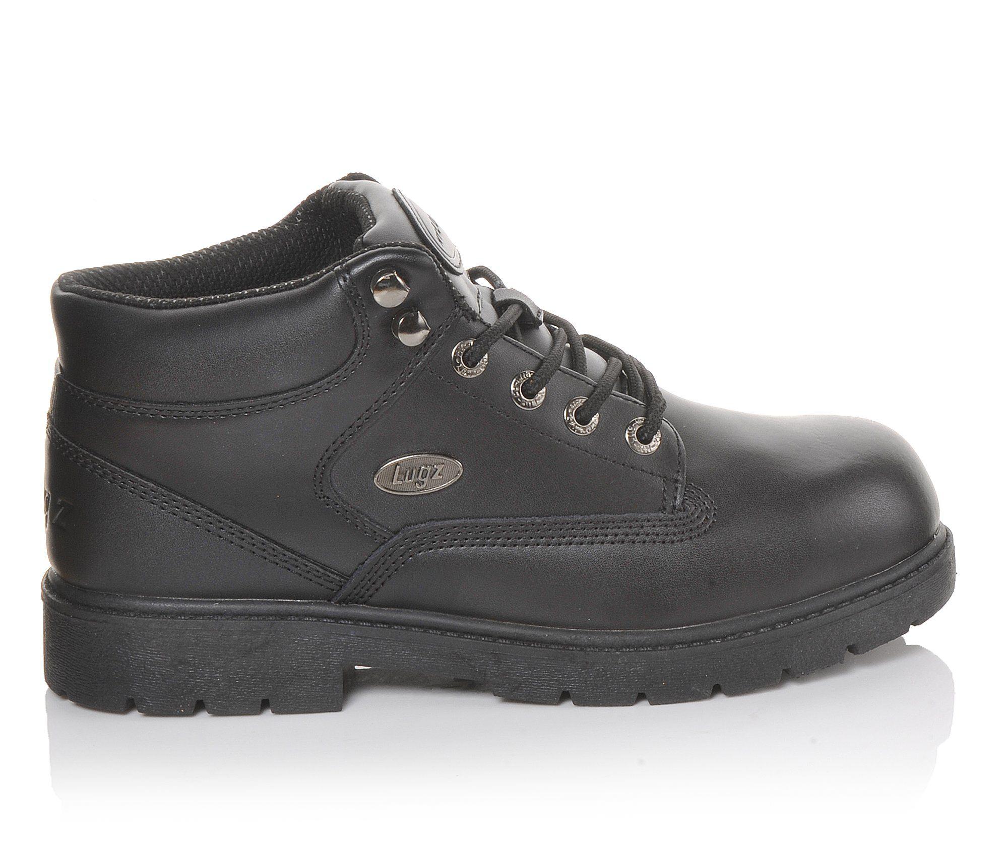 Lugz Zone Hi Slip Resistant Men's Boots (Black Leather)