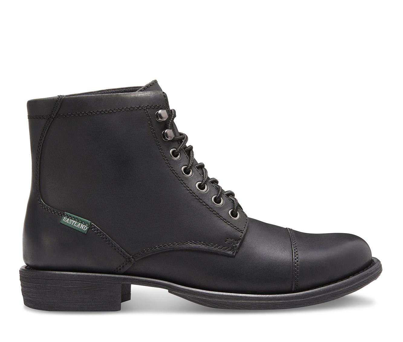 Eastland High Fidelity Men's Boots (Black Leather)