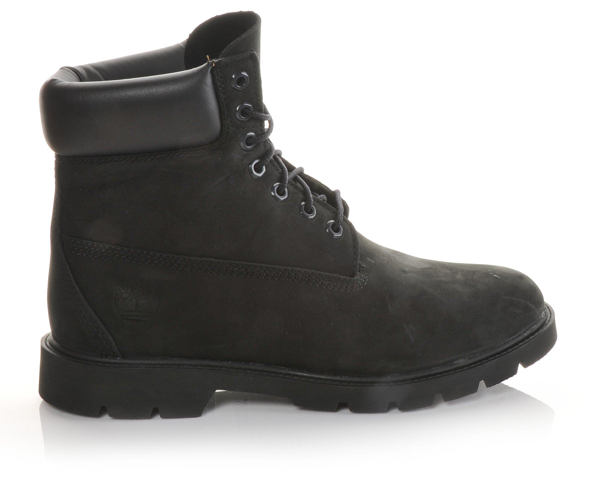 Timberland 19039 6-inch Padded Men's Boots (Black Leather)
