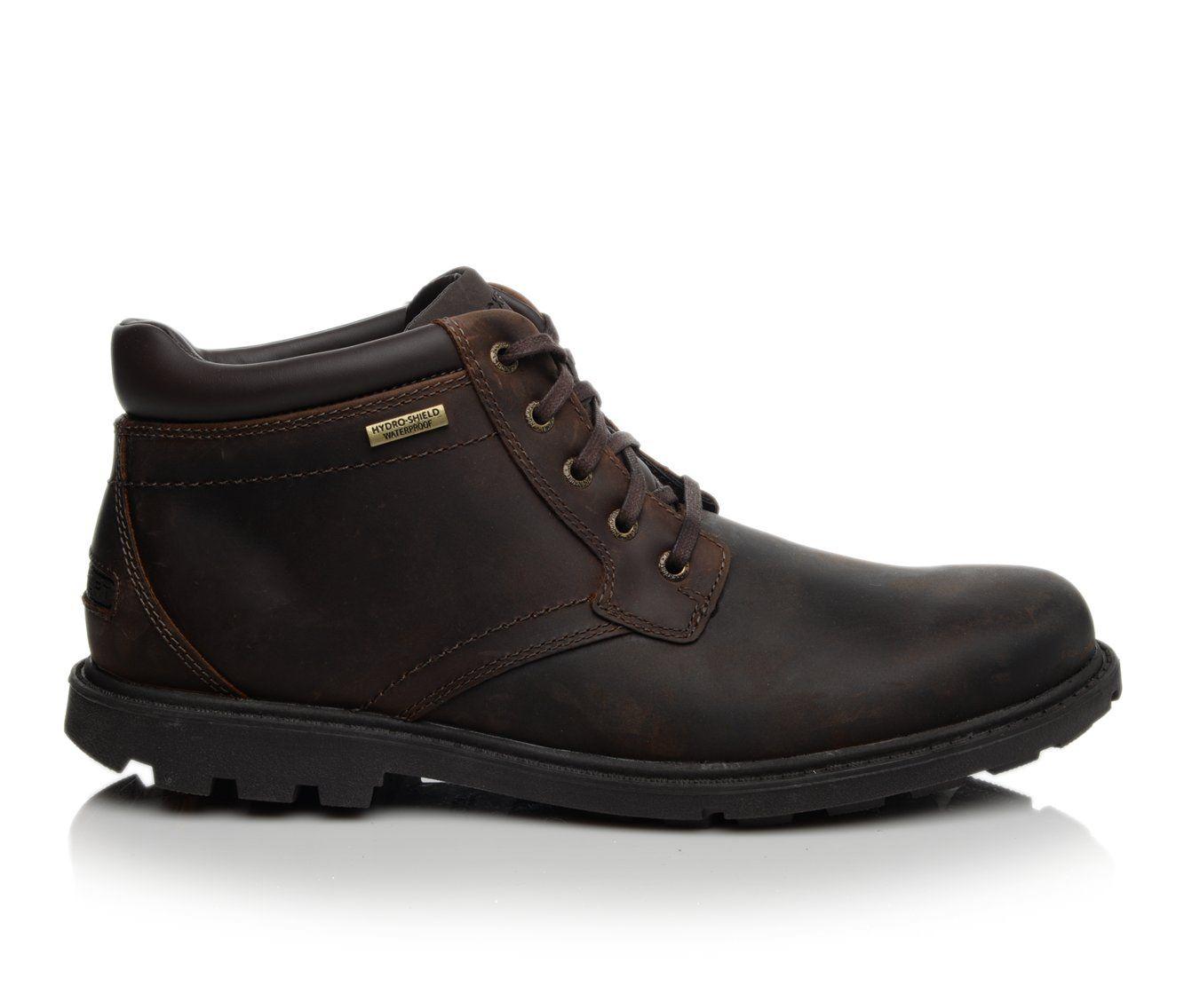 Rockport Storm Surge Men's Boots (Brown Leather)