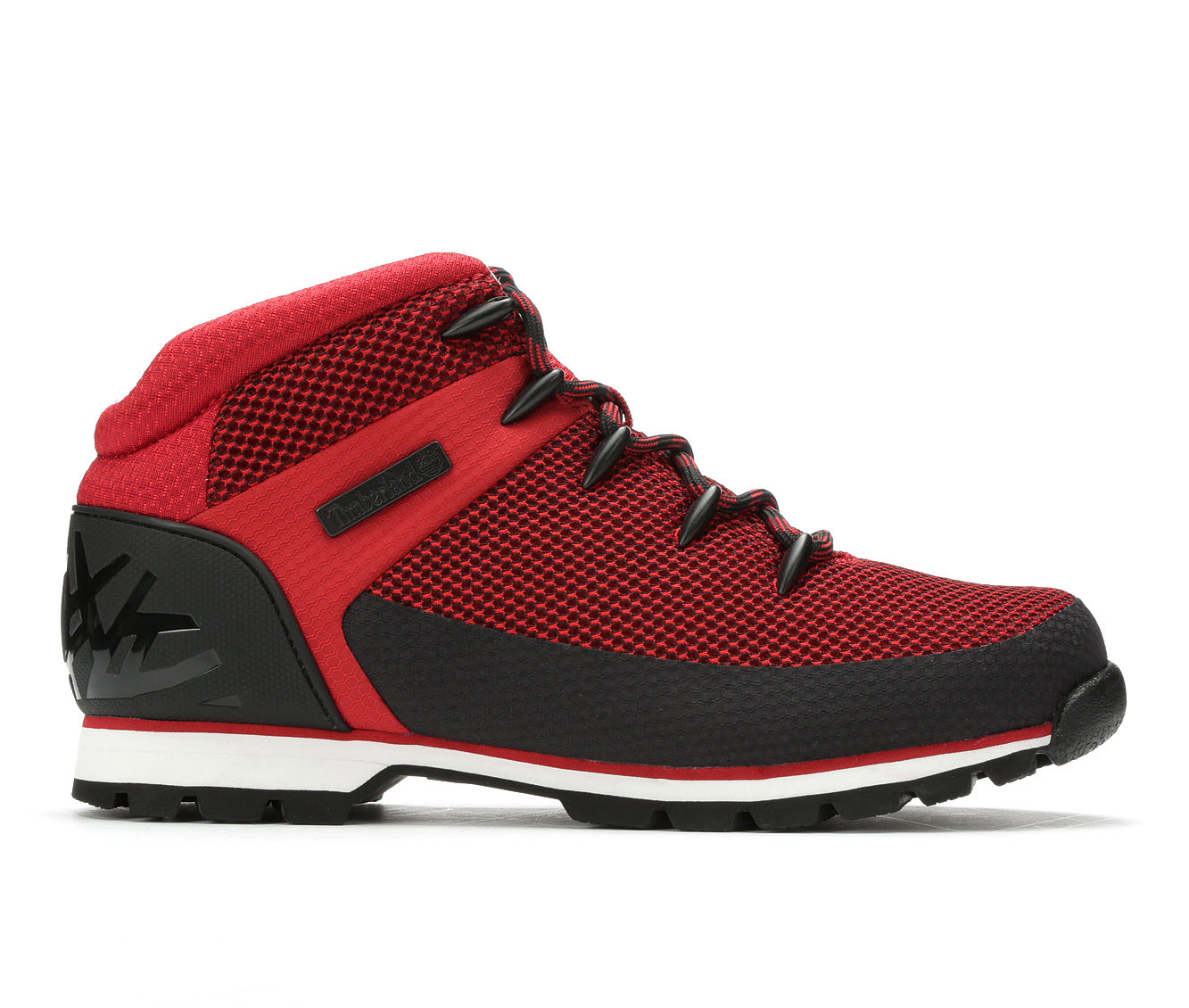 Timberland Euro Sprint Hiker Men's Boots (Red Canvas)