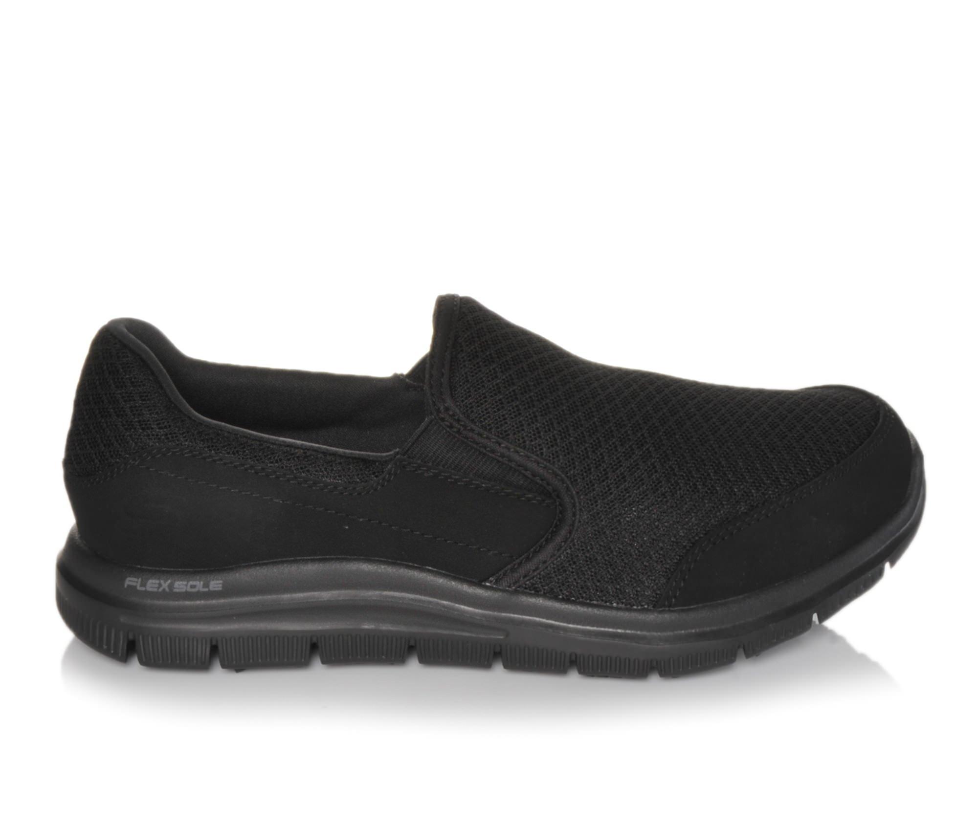 Skechers Work 76580 Cozard Men's Boots (Black Canvas)