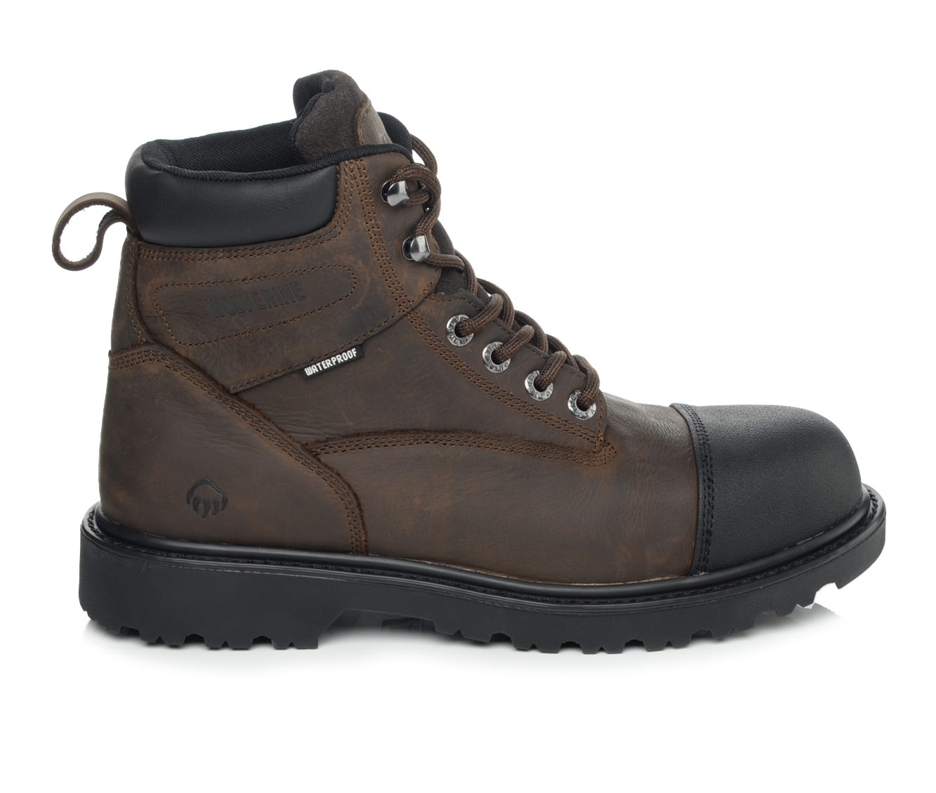 Wolverine Rig 6 In Soft Toe Men's Boots (Brown Leather)