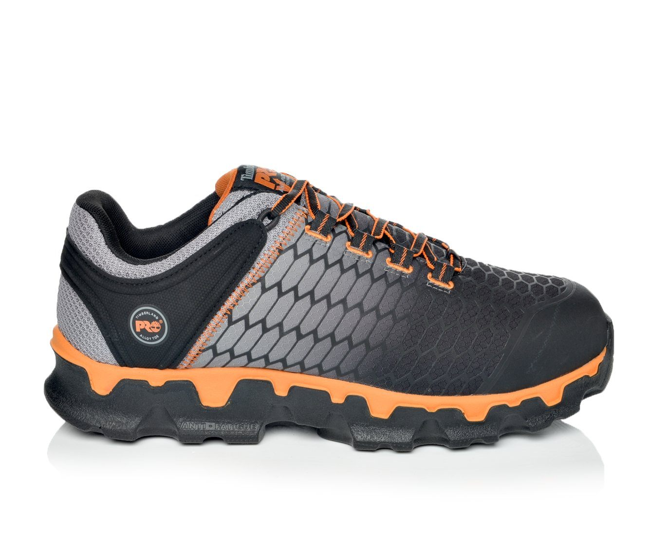 Timberland Pro Powertrain Sport A1GT9 Men's Boots (Gray Faux Leather)