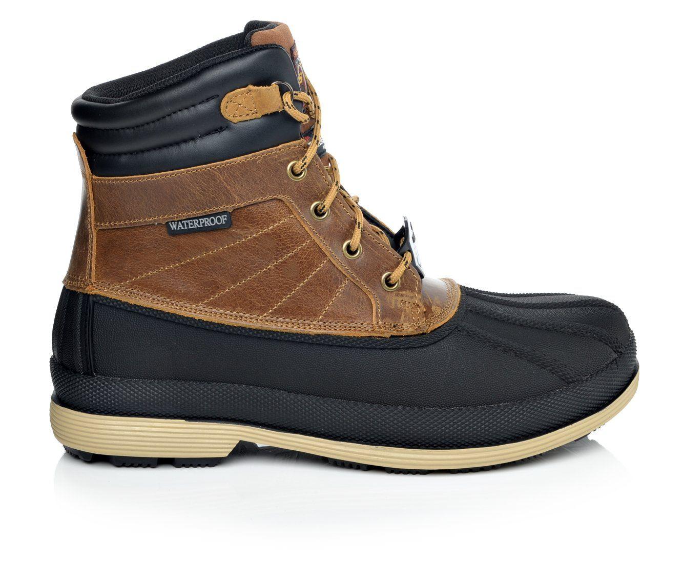 Skechers Work Robards Waterproof 77065 Men's Boots (Brown)