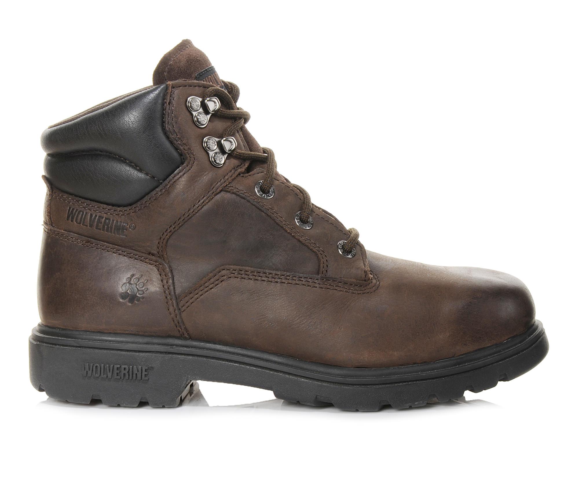 Wolverine Bulldozer Men's Boots (Brown Leather)
