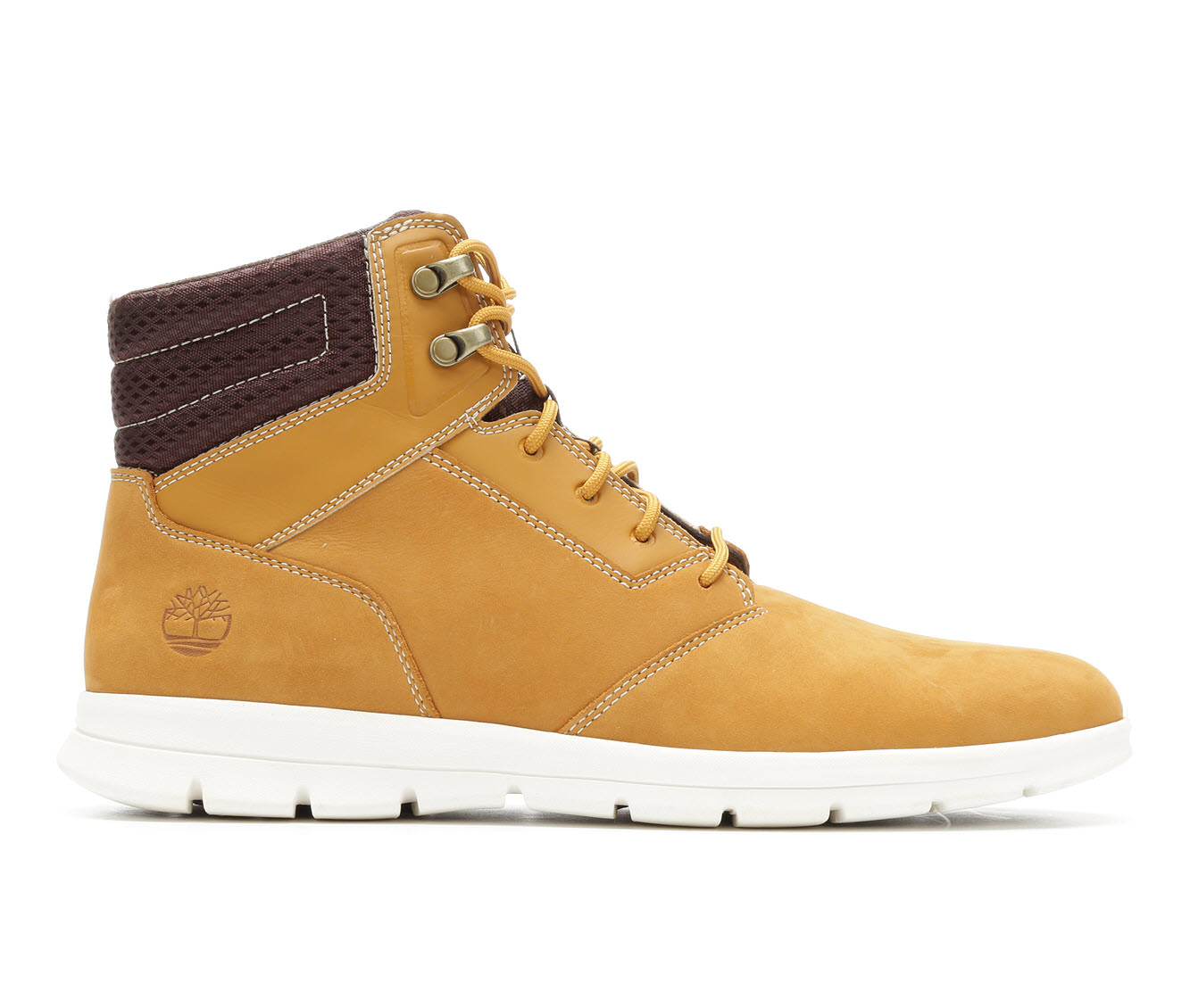 Timberland Graydon Sneaker Men's Boots (Brown Leather)