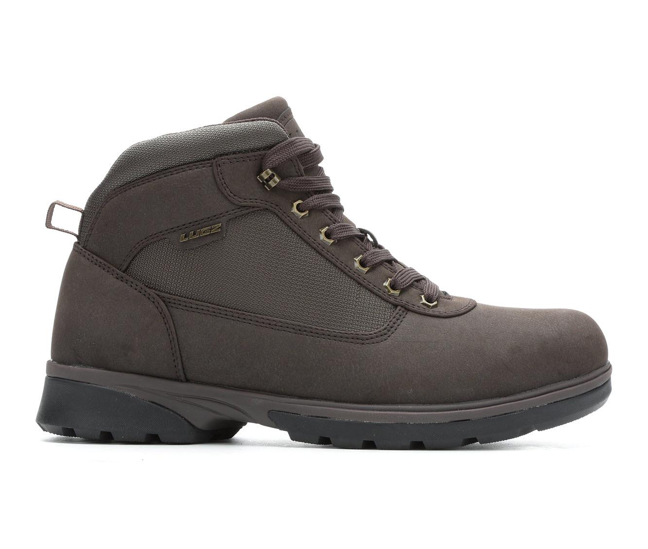 Lugz Zeolite Men's Boots (Brown Faux Leather)