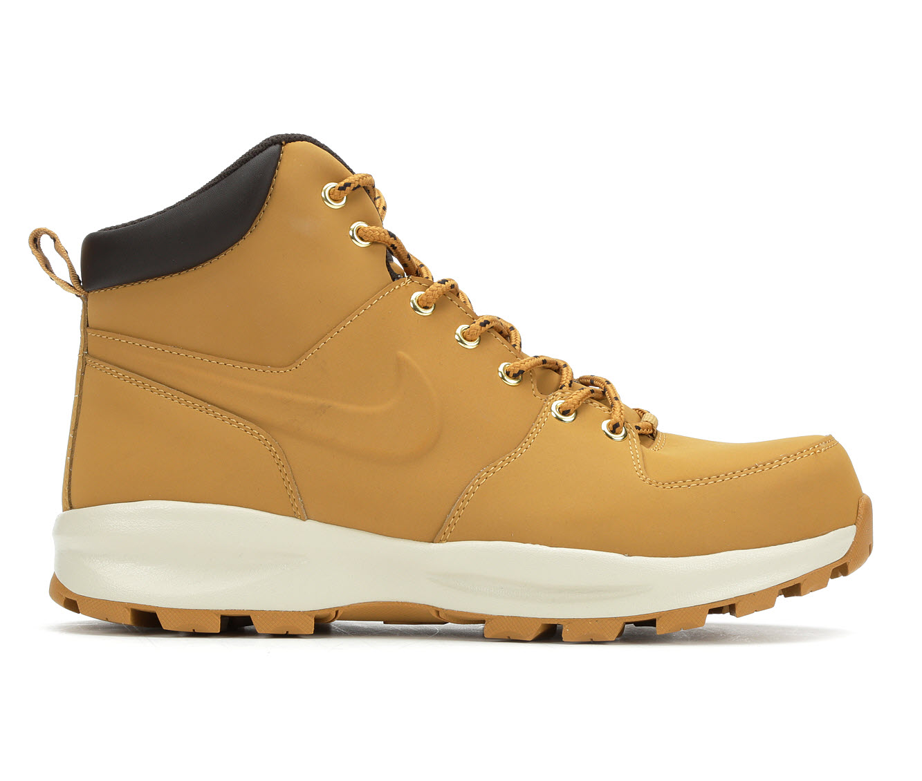 Nike Manoa Leather Lace-Up Men's Boots (Beige Leather)
