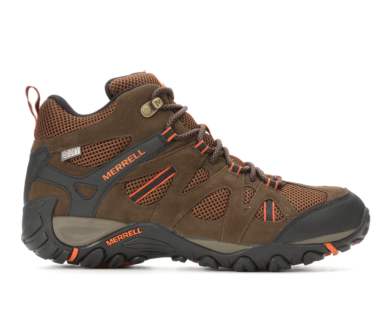 Merrell Diverta Mid Waterproof Men's Boots (Brown Suede)