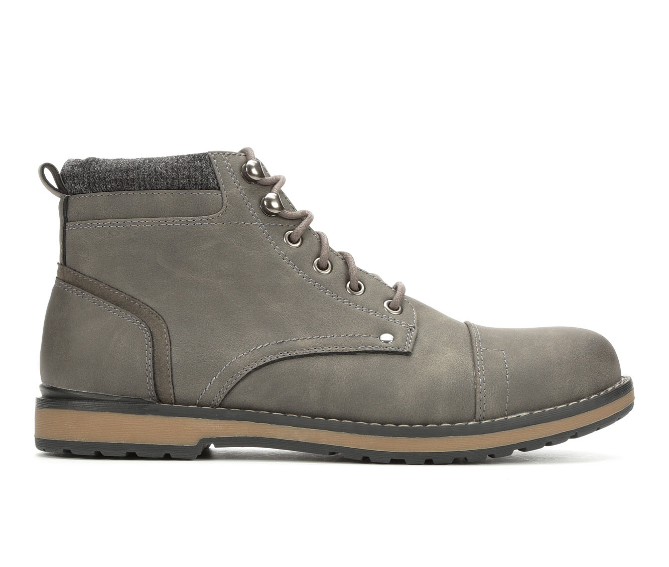 Gotcha Royston Men's Boots (Gray Faux Leather)