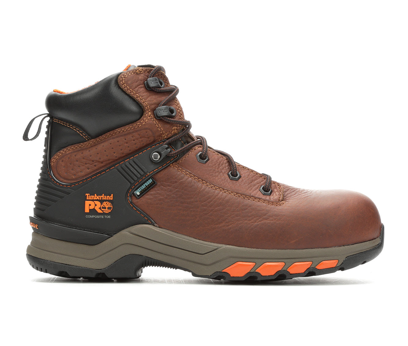 Timberland Pro A1Q54 Hypercharge Composite Toe Men's Boots (Brown Leather)