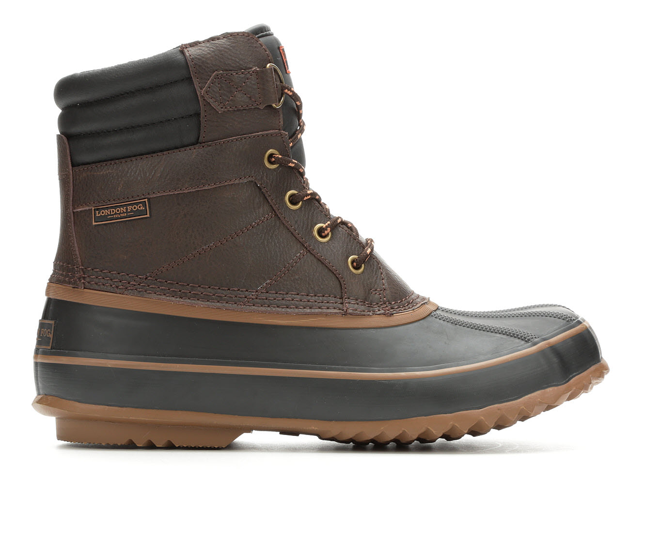 London Fog Ashford 3 Men's Boots (Brown Faux Leather)