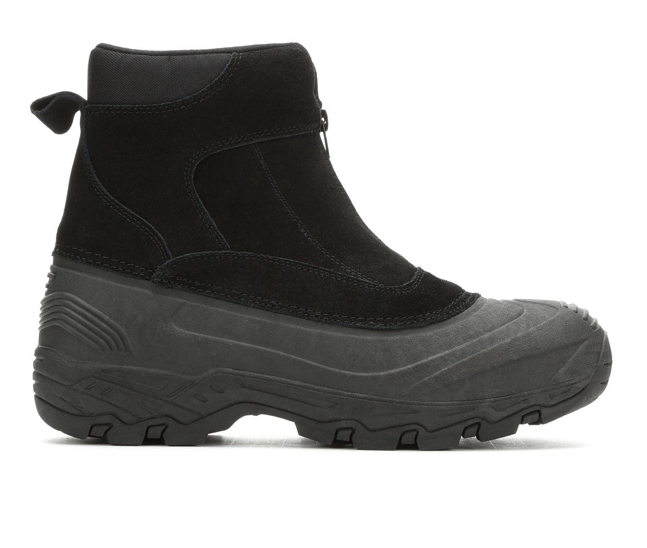 London Fog Holborn Men's Boots (Black Faux Leather)