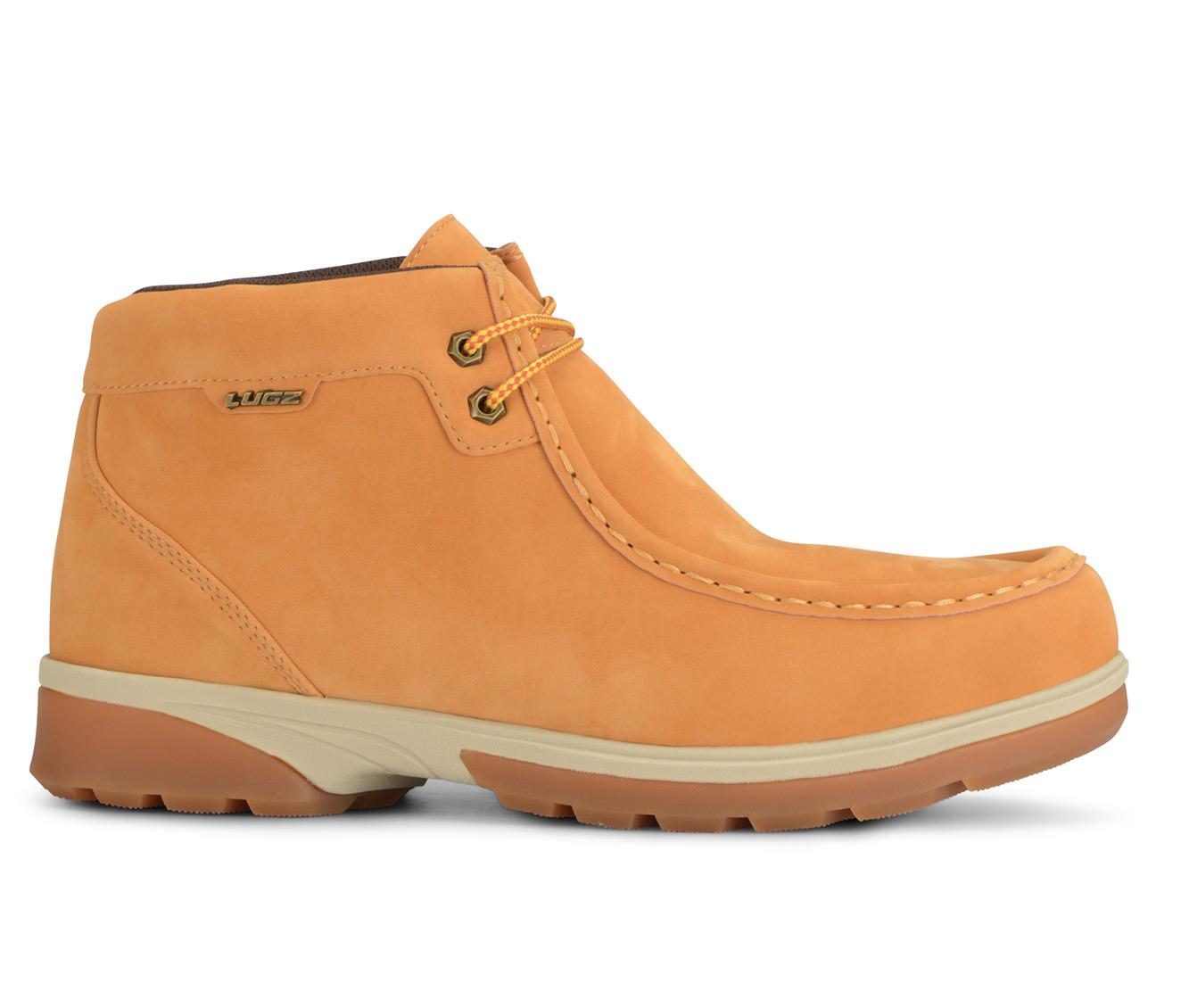 Lugz Zeo Moc Mid-Rise Men's Boots (Brown Faux Leather)