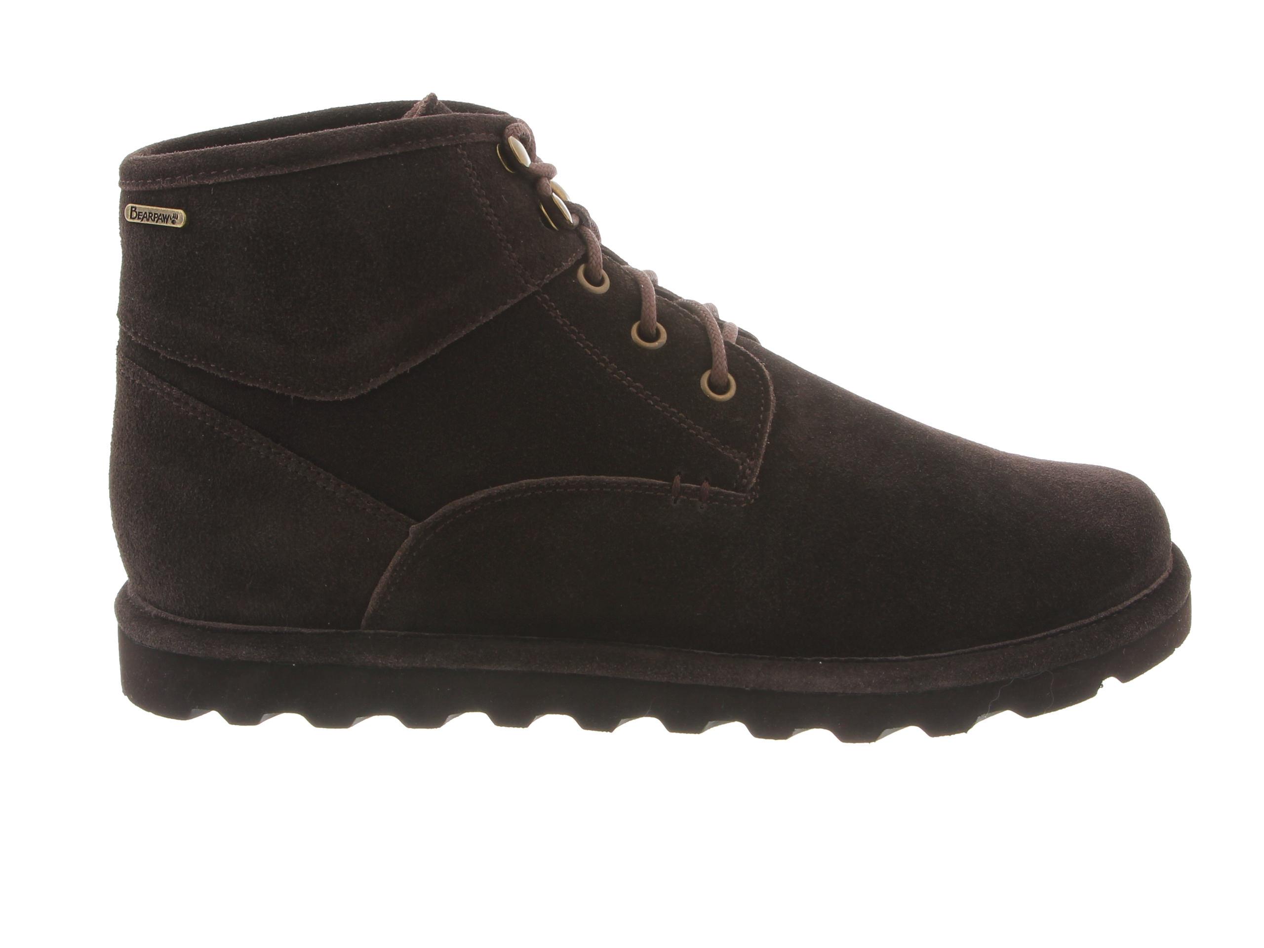 Bearpaw Rueben Men's Boots (Brown Suede)