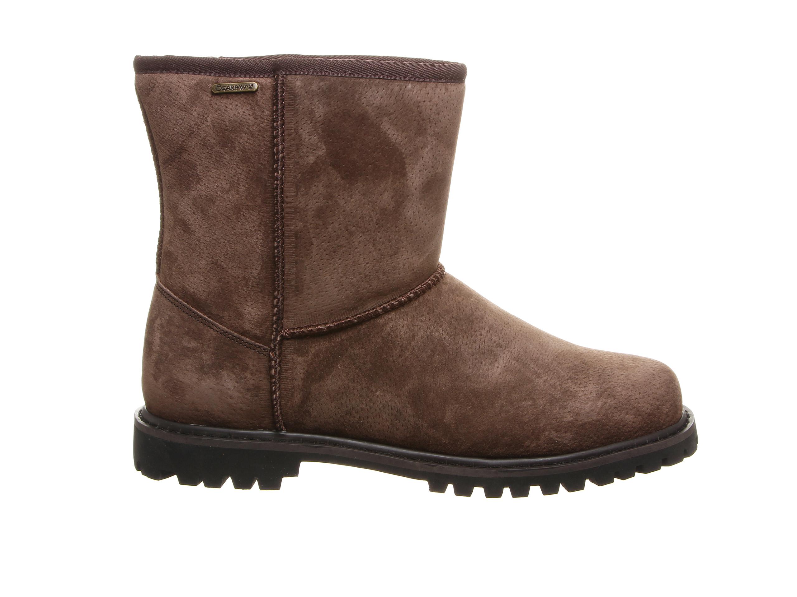 Bearpaw Dante Men's Boots (Brown Suede)
