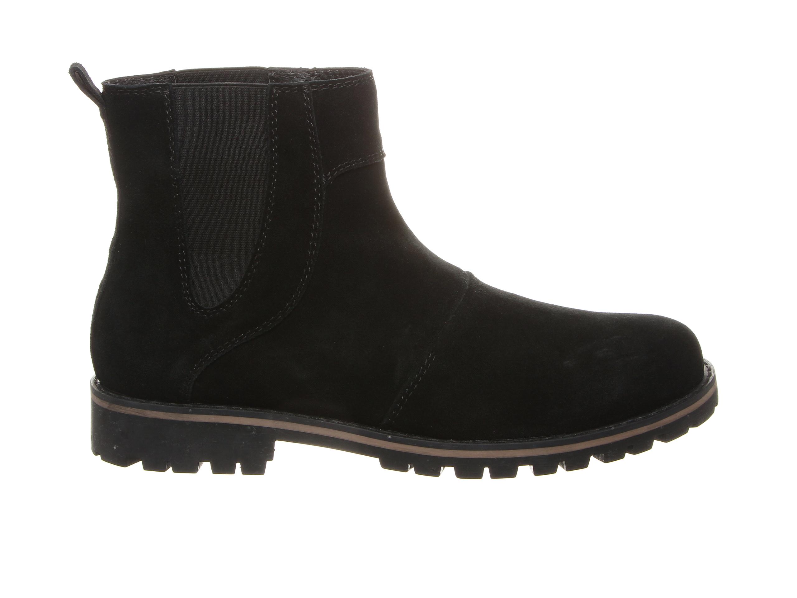 Bearpaw Alastair Men's Boots (Black Suede)
