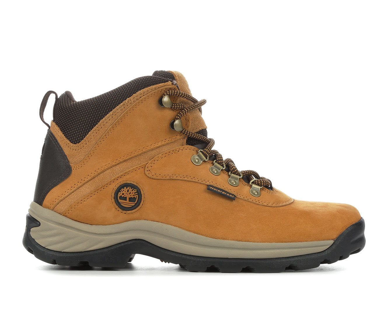 Timberland White Ledge Waterproof Men's Boots (Beige Leather)