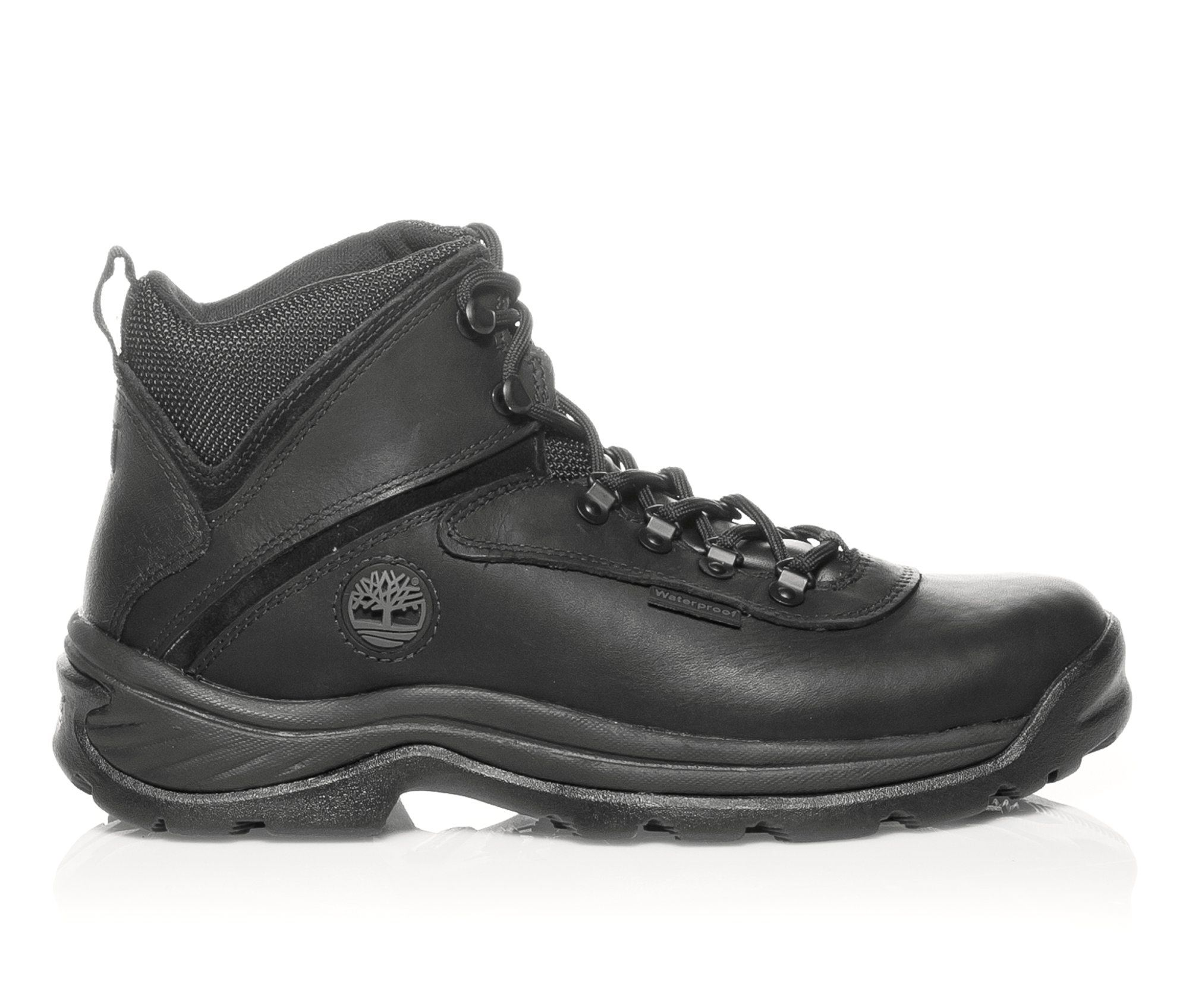 Timberland White Ledge Waterproof Men's Boots (Black Leather)