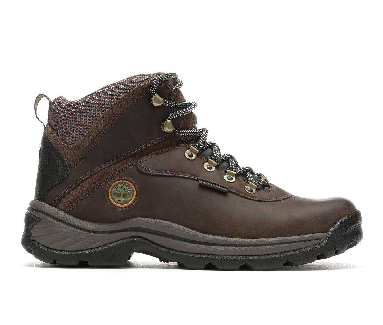 Timberland White Ledge Waterproof Men's Boots (Brown Leather)