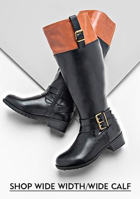Shop wide width wide calf boots!