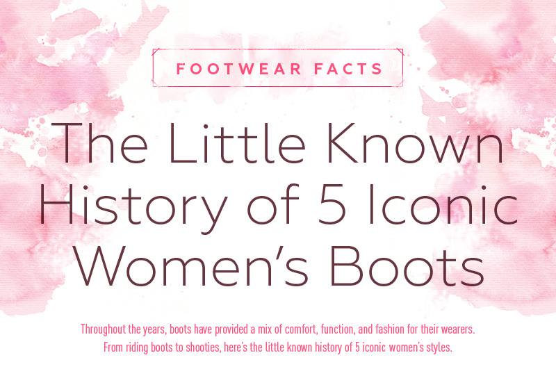 The Little Known History of 5 Iconic Women's Boots