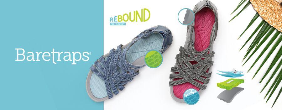 Baretraps rebound technology sandals