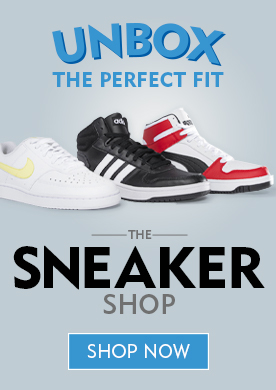 Unbox The Perfect Fit. The Sneaker Shop. Shop Now!