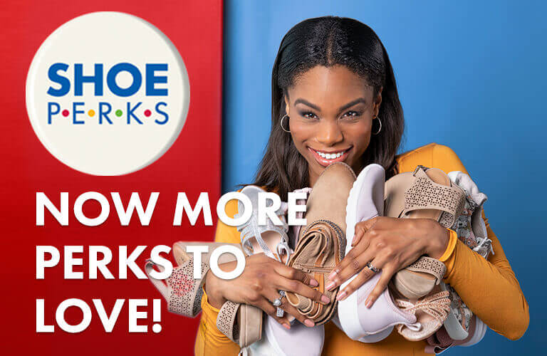 Shoe Perks rewards banner image