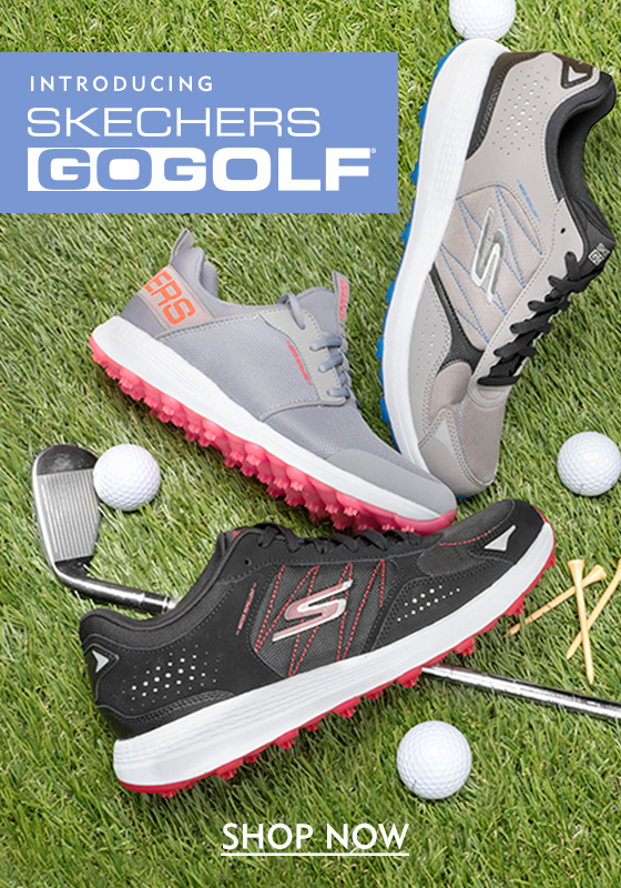 Introducing Skechers Go Golf. Shop Now