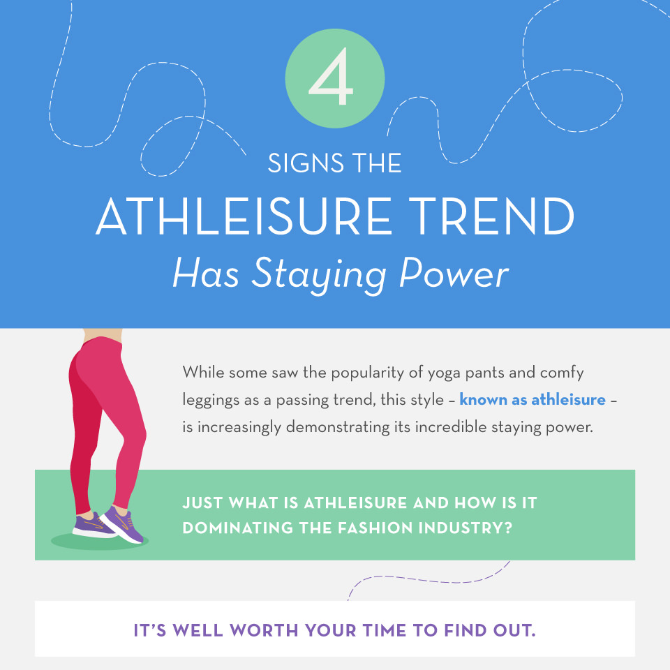 4 Signs the Athleisure Trend Has Staying Power