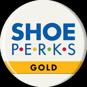 Shoe Perks Gold rewards Logo