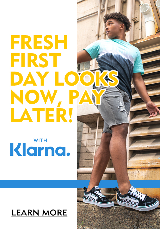 Buy Now, Pay Later! Pay in 4 Interest-Free Payments with Klarna. Learn More
